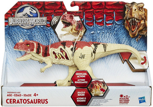 Jurassic World Growler Ceratosaurus Action Figure