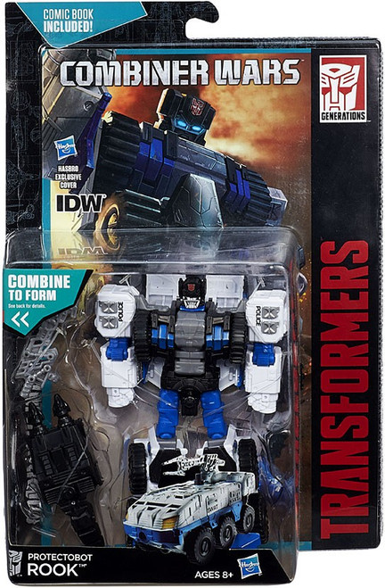 "Transformers Generations Combiner Wars Rook 6"" Action Figure [Protectobot]"