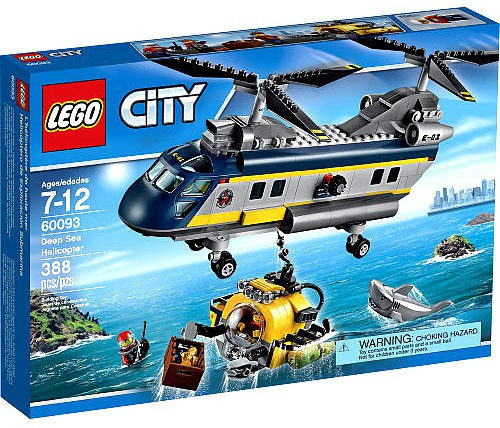 LEGO City Deep Sea Helicopter Set #60093