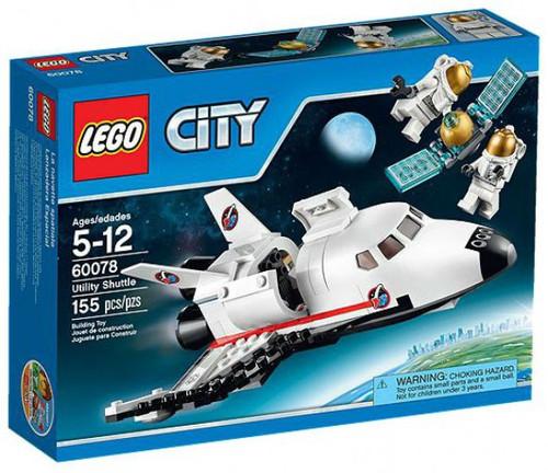LEGO City Utility Shuttle Set #60078