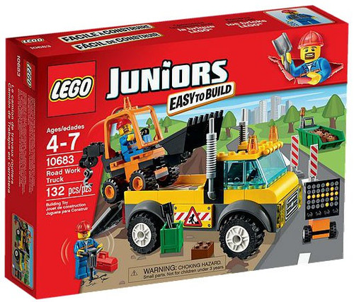 LEGO Juniors Road Work Truck Set #10683