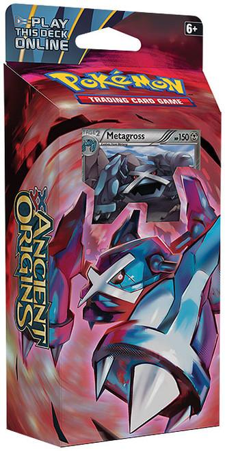 Pokemon Trading Card Game XY Ancient Origins Iron Tide Theme Deck [Metagross]