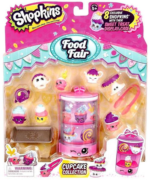 Shopkins Food Fair Cupcake Collection Theme Pack
