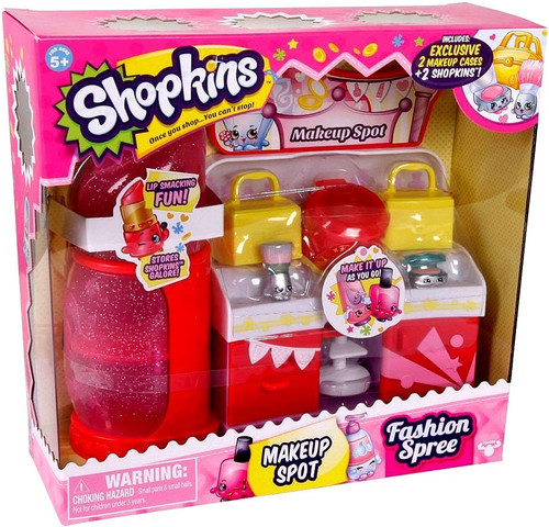 Shopkins Fashion Spree Makeup Spot Playset