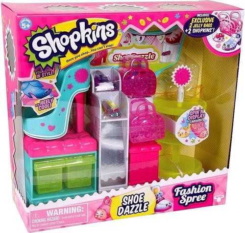 Shopkins Fashion Spree Shoe Dazzle Playset