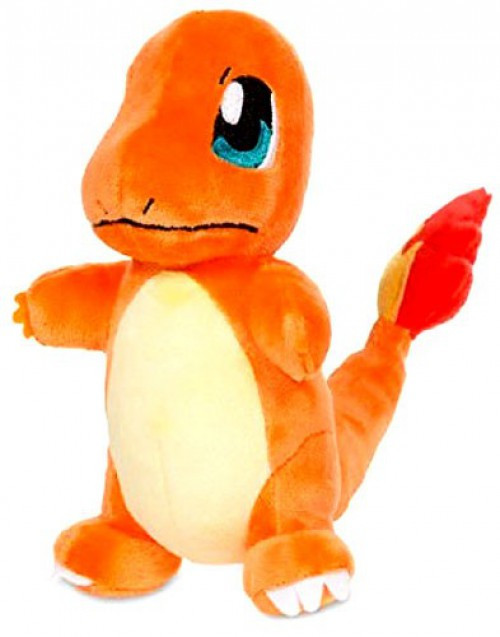 Pokemon Charmander Exclusive 6.5-Inch Plush [Standard Size #26]