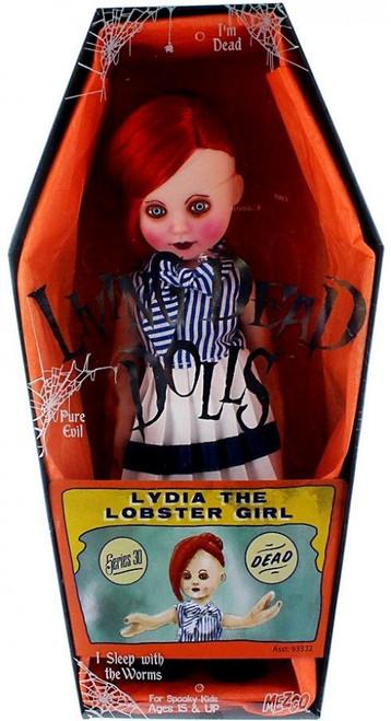 Living Dead Dolls Series 30 Freakshow Lydia the Lobster Girl 10.5-Inch Doll