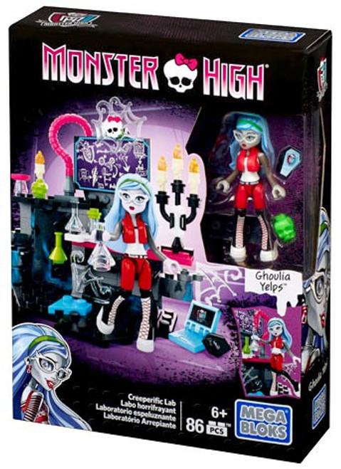 Mega Bloks Monster High Creeperific Lab Set #38271 [Ghoulia Yelps]