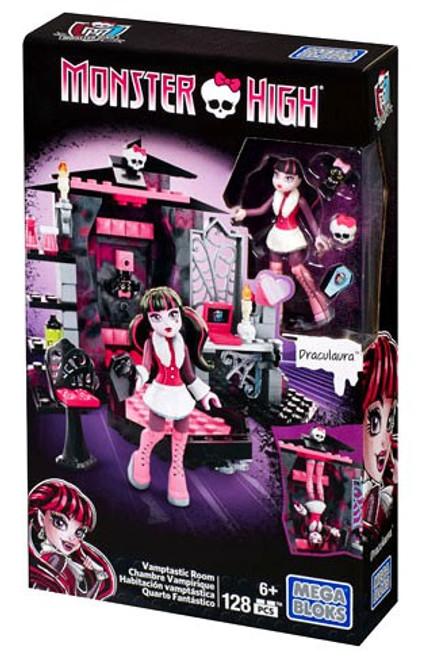 Mega Bloks Monster High Vamptastic Room Set #38049 [Draculaura]