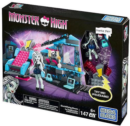 Mega Bloks Monster High Electrifying Room Set #38050 [Frankie Stein]