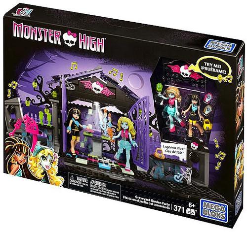 Mega Bloks Monster High Graveyard Garden Party Set #38052 [Lagoona Blue & Cleo de Nile]