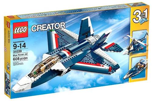 LEGO Creator Blue Power Jet Set #31039