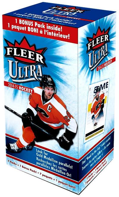 NHL 2014-15 Fleer Ultra Hockey Trading Card BLASTER Box [7 Packs + 1 Bonus Pack]