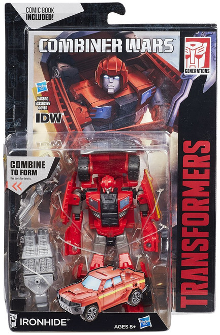 Transformers Generations Combiner Wars Ironhide Deluxe Action Figure