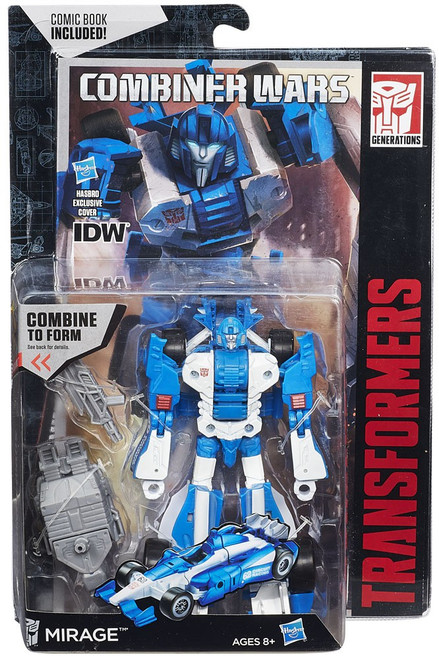 Transformers Generations Combiner Wars Mirage Deluxe Action Figure