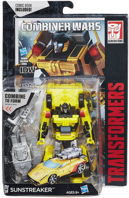 Transformers Generations Combiner Wars Sunstreaker Deluxe Action Figure