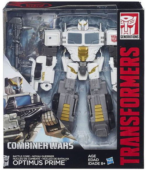 Transformers Generations Combiner Wars Battle Core Optimus Prime Voyager Action Figure