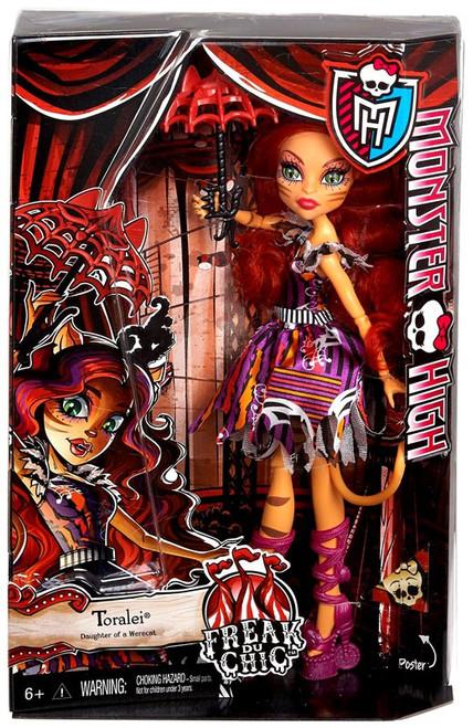 Monster High Freak Du Chic Toralei 10.5-Inch Doll