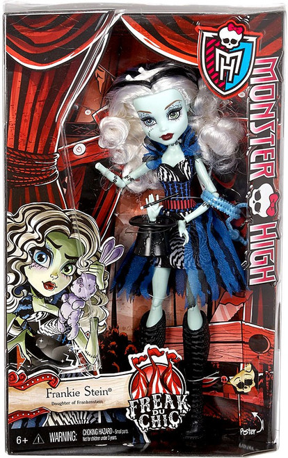Monster High Freak Du Chic Frankie Stein 10.5-Inch Doll