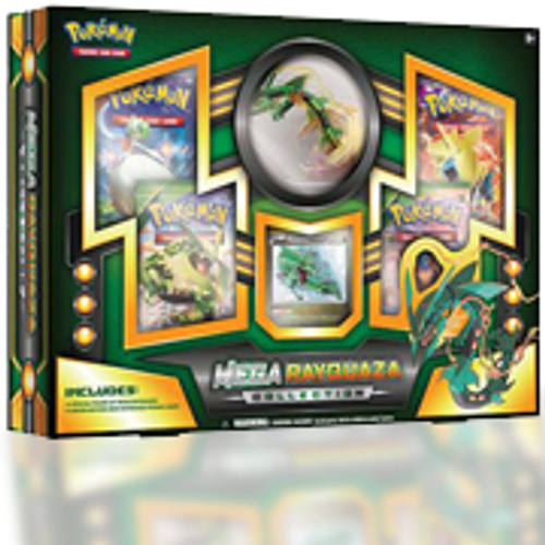 Pokemon Trading Card Game XY Mega Rayquaza EX Collection Box [4 Booster Packs, Figure & Promo Card]