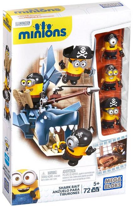 Mega Bloks Minions Shark Bait Set #38023
