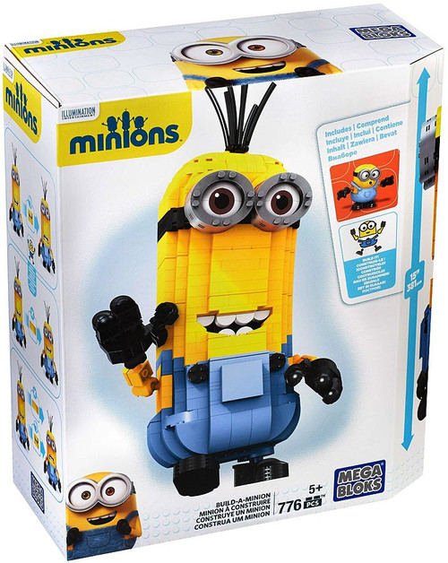 Mega Bloks Minions Build-A-Minion Kevin Set #38028