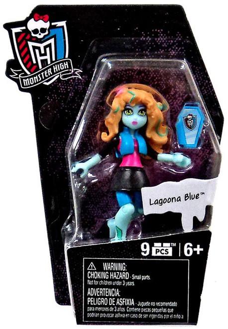 Monster High Mega Bloks Ghouls Skullection Lagoona Blue Mini Figure #94267