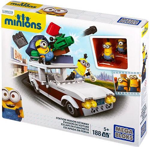 Mega Bloks Minions Station Wagon Getaway Set #38025