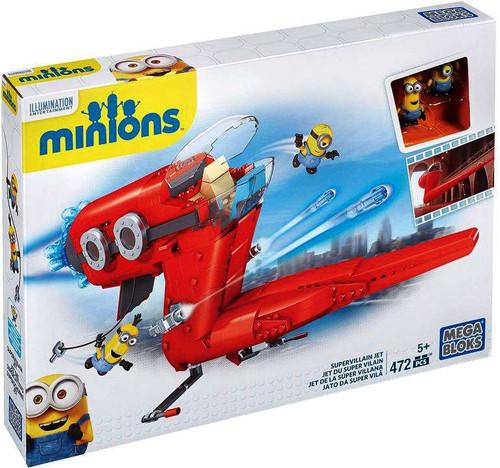 Mega Bloks Minions Supervillain Jet Set #38029