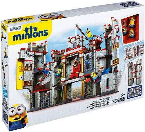 Mega Bloks Minions Castle Adventure Set #38029