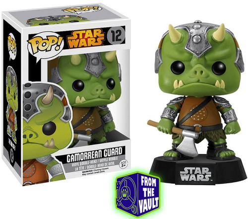 Funko POP! Star Wars Gamorrean Guard Vinyl Bobble Head #12 [Vaulted Edition]