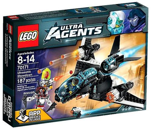 LEGO Agents Ultrasonic Showdown Set #70171