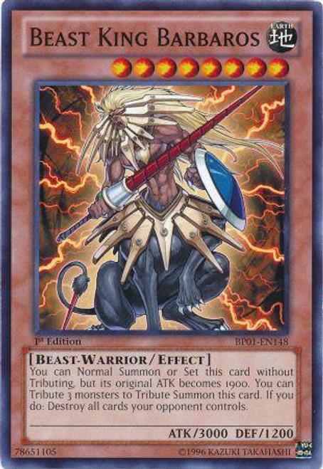 YuGiOh Battle Pack: Epic Dawn Starfoil Beast King Barbaros BP01-EN148