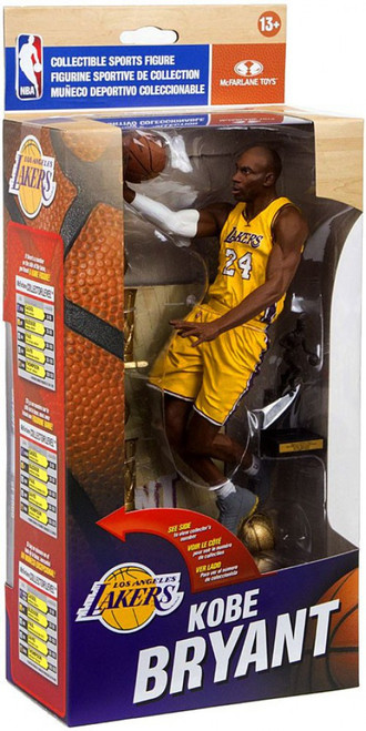 McFarlane Toys NBA Los Angeles Lakers Sports Picks Exclusive Kobe Bryant Action Figure Collector Set