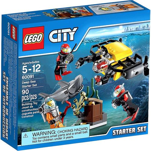 LEGO City Deep Sea Starter Set Set #60091