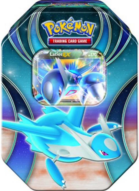 Pokemon Power Beyond 2015 Latios-EX Tin Set