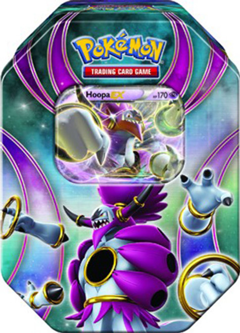 Pokemon Power Beyond 2015 Hoopa-EX Tin Set