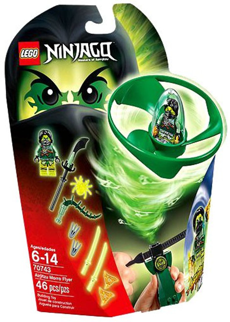 LEGO Ninjago Airjitzu Morro Flyer Set #70743
