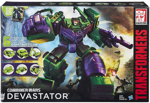 Transformers Generations Combiner Wars Devastator Titan Action Figure