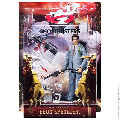 Ghostbusters Egon Spengler Exclusive Action Figure [Courtroom Battle]