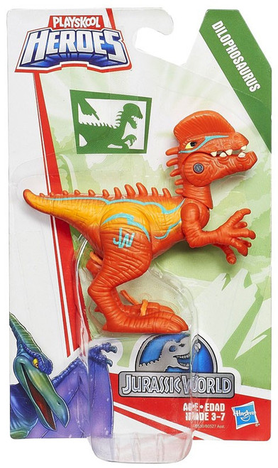 Jurassic World Playskool Heroes Chomp 'N Stomp Dilophosaurus Action Figure