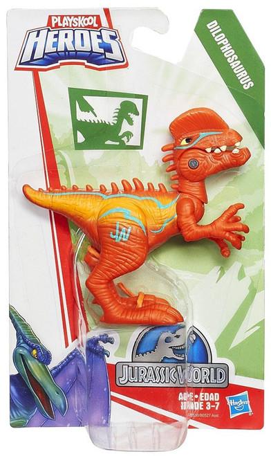 Jurassic World Playskool Heroes Chomp 'N Stomp Dilophosaurus Action Figure