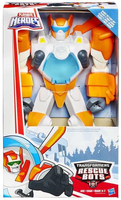 """Transformers Playskool Heroes Rescue Bots Blades the Flight-Bot 11"""" Action Figure [Epic Series]"""