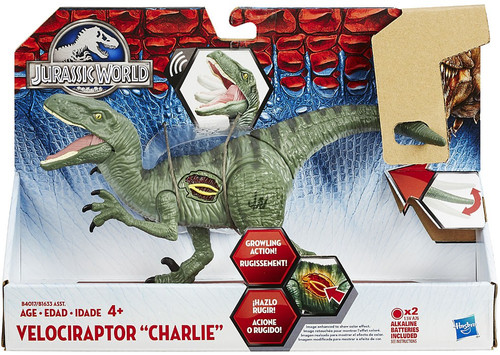 Jurassic World Growler Velociraptor Charlie Action Figure