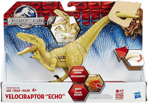 Jurassic World Growler Velociraptor Echo Action Figure