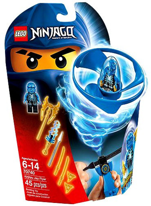 LEGO Ninjago Airjitzu Jay Flyer Set #70740