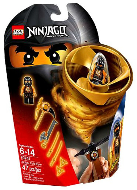 LEGO Ninjago Airjitzu Cole Flyer Set #70741