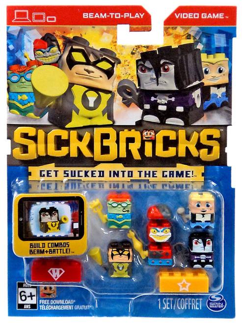 Sick Bricks Sick Team Superheroes & Hollywood Minifigure 5-Pack