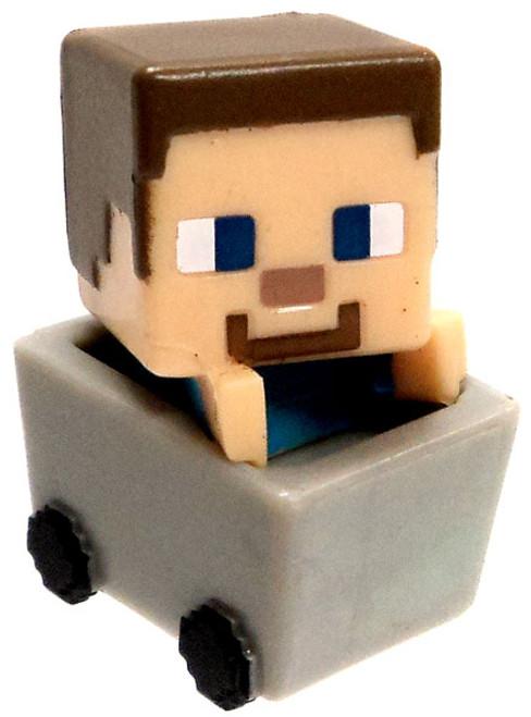 Minecraft Netherrack Series 3 Steve? 1-Inch Mini Figure [Minecart Loose]