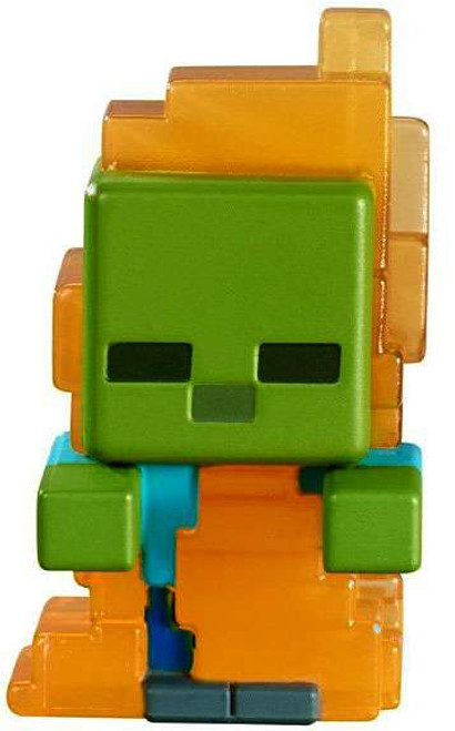 Minecraft Netherrack Series 3 Zombie in Flames 1-Inch Mini Figure [Loose]
